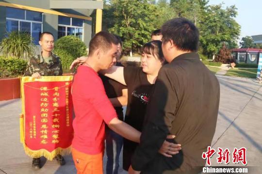 浙江姐弟分离三十载广西边防官兵助团圆