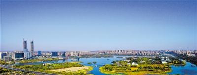 湖城银川:秋水共长天一色