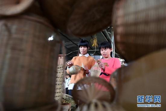 (经济)(5)竹编产业助增收