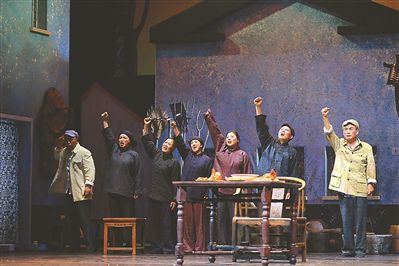 滑稽戏《陈奂生的吃饭问题》展现农民命运长河