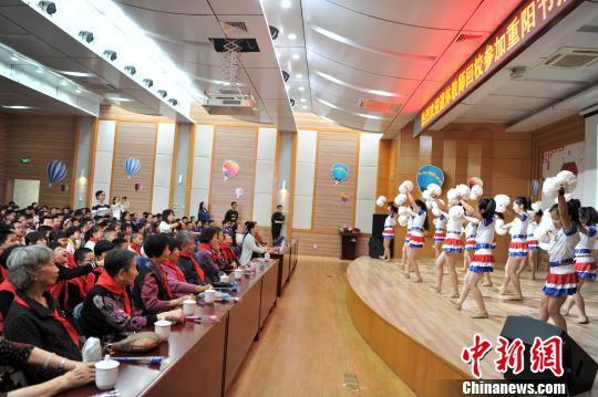 我们的节日・重阳:福州小学校园尊老敬老