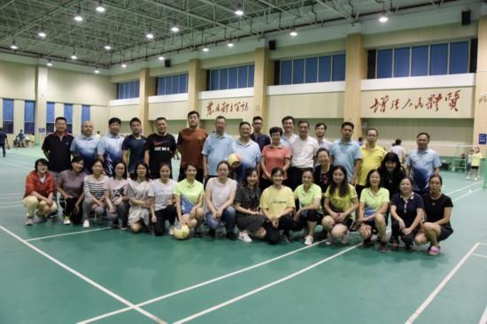自治区法制办公室组织开展干部职工气排球比赛活动