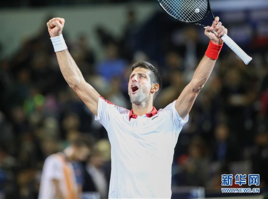 (体育)(13)网球――上海大师赛:焦科维奇夺冠