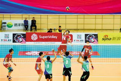 大学生排球联赛北方赛区(男子组)开幕式在宁夏体育馆举行