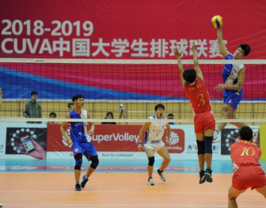 10月15―23日到宁夏体育馆赏中国大学生男排高水平赛事