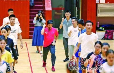跑得最快的副教授苏炳添在暨南大学开课啦