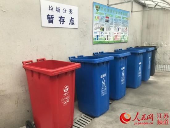 南京将处罚未按规定实施垃圾分类四类单位