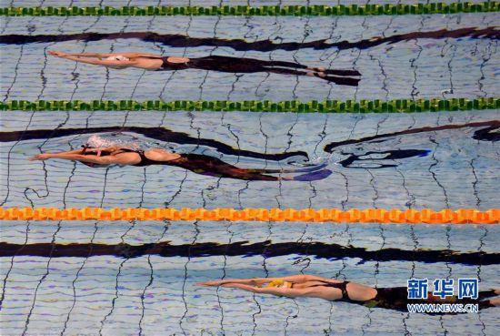 全国蹼泳锦标赛在福建将乐开赛