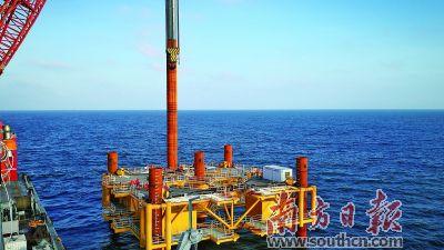 国内单体最大海上风电项目主体工程开工