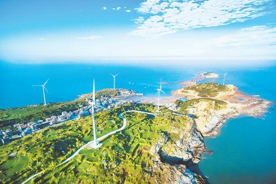泉州惠安:生态优先 海岸披绿