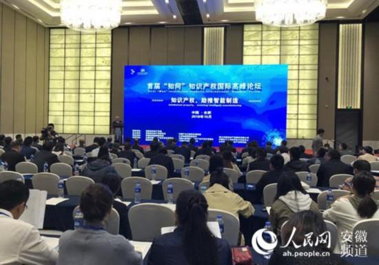 知识产权国际高峰论坛在合肥召开
