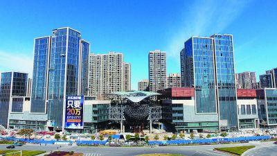 南京六合新建大型商业综合体 占地53.76万平方米