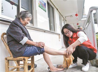 浙江:志愿服务迎重阳