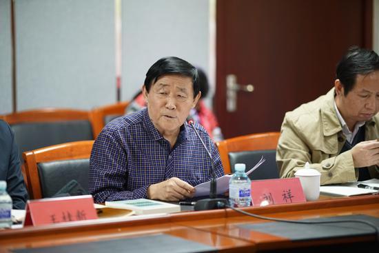 通州区作协主席刘祥发言