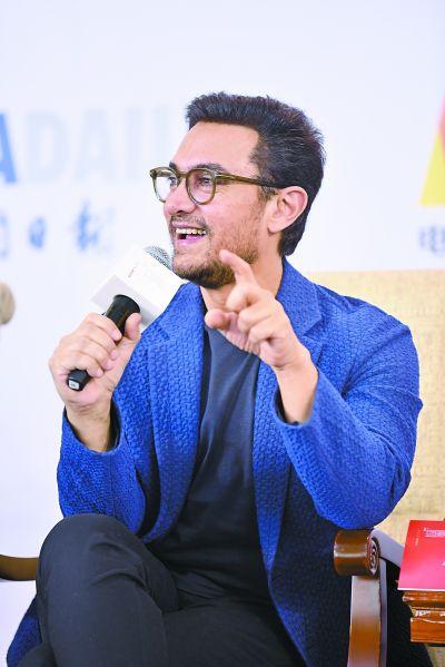 阿米尔・汗正在制作新片《印度暴徒》