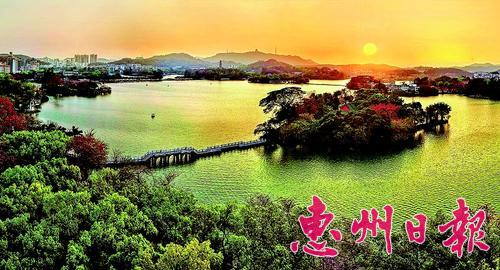 组图:走进惠州西湖风景名胜区
