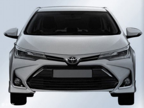 丰田全新卡罗拉广州车展亮相 搭2种动力