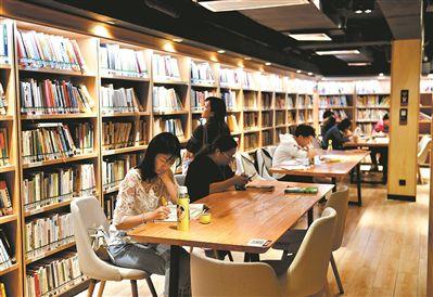 转角遇到图书馆 咖啡香里品书香 四川频道 人民网