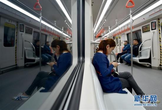(社会)(1)天津地铁5号线开通试运营
