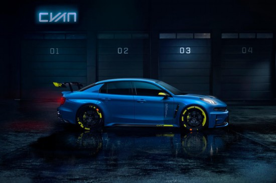 传承赛车血统 领克发布03高性能概念车