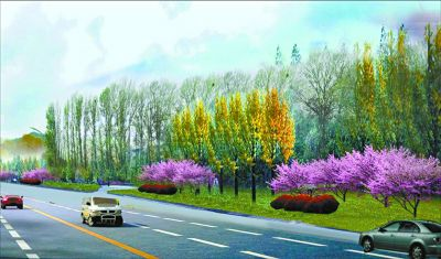 一街一品 移步成景:世园会四条市政路下月盛装亮相
