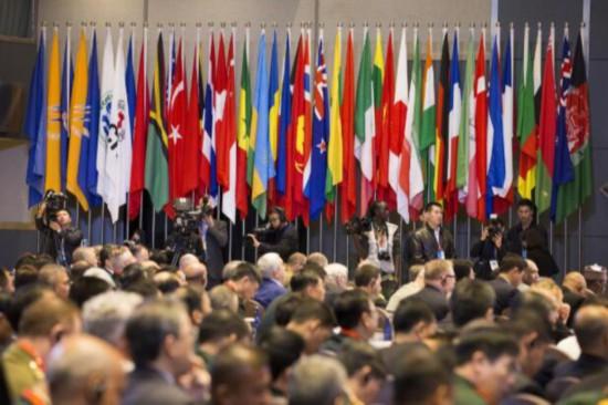 10月25日,第八届北京香山论坛在北京国际会议中?#30446;?#24149;。琚振华摄