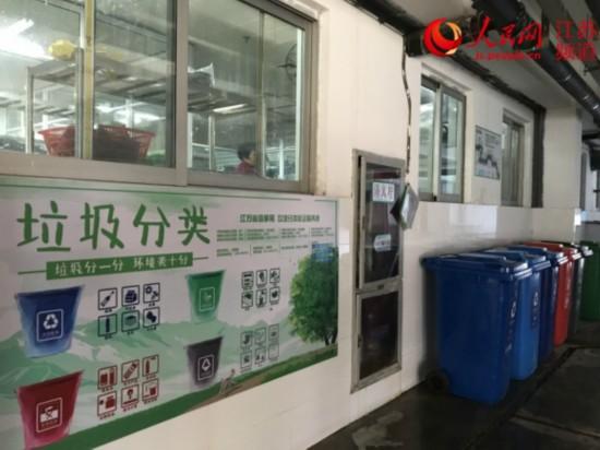 南京建邺四类单位垃圾分类告知率已达100%