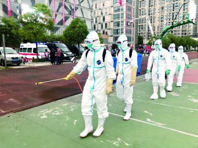 武漢試鳴防空警報 防空演練加入殘疾人緊急撤離場景