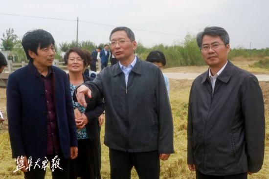戴源:做足土地文章 全力推进农业增效农民增收
