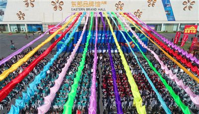 第三届中国东部家具博览会南通海安开幕