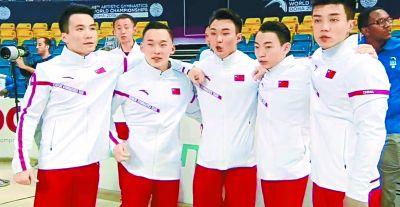 中国体操重夺男团世界冠军
