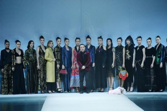 中国国际时装周之David Sylvia・郝为民:越七海之界、见七味之情