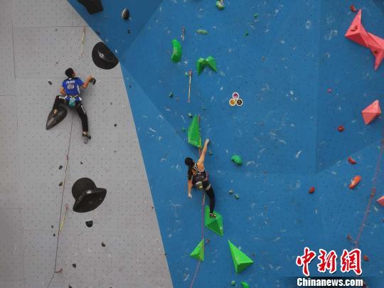 2018亚洲青年攀岩锦标赛重庆开赛
