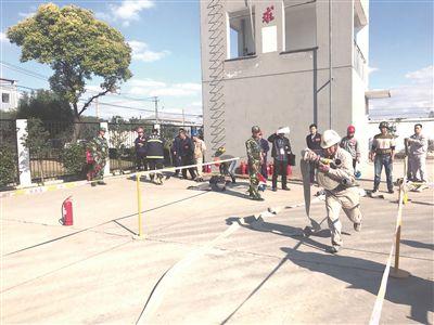 全市25支代表队参加应急救援技能大比武