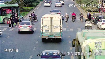 郑州:15处路口5天抓拍处罚339