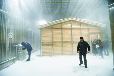 北京建成气候仿真实验室 能模拟8种气象元素