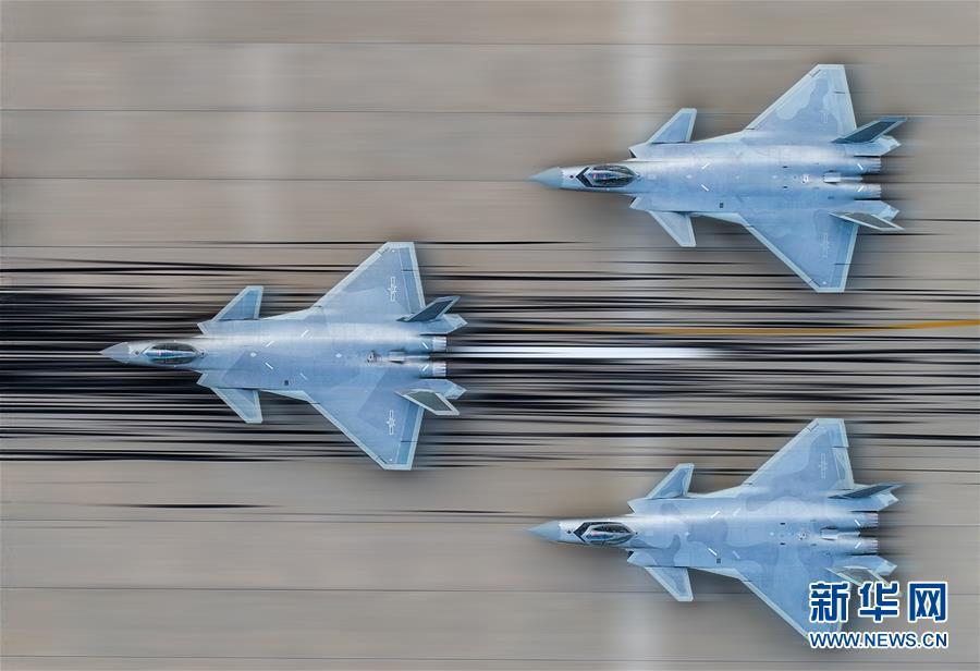 (图文互动)(1)歼-20将以新涂装新编队新姿态亮相航展――中国空军新闻发言人介绍空军参加第12届中国航展有关情况