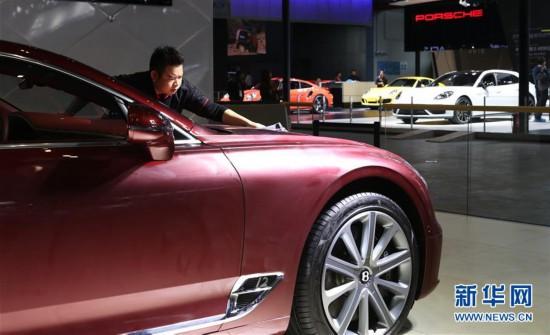 (聚焦进口博览会)(1)进博会汽车展区布展工作进入收尾阶段