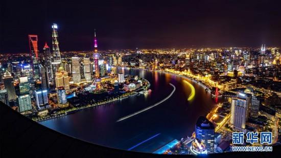 组图:美丽上海张开怀抱,迎接八方来客