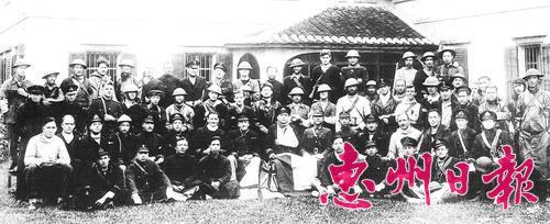 香港即将沦陷,72名中英官兵秘密转移至惠州。