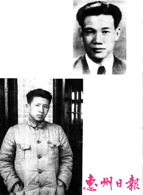 香港沦陷后,廖承志接到周恩来指示,计划秘密营救滞留香港文化人。图为秘密营救领导人廖承志(下图)和张文彬。