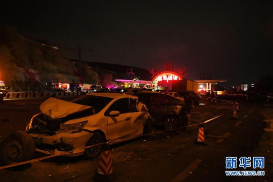蘭海高速重大交通事故已致15人死亡44人受傷