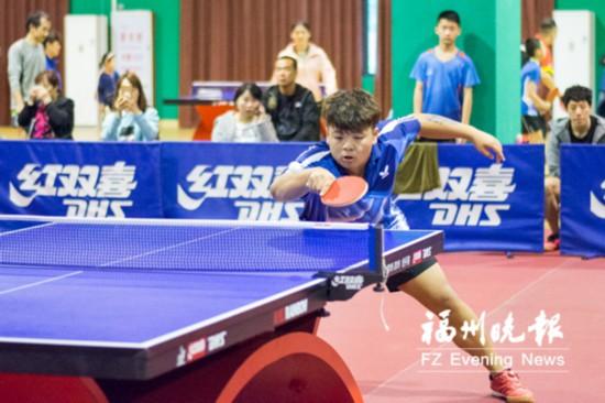 福建省全民健身运动会乒乓球比赛福州站举行