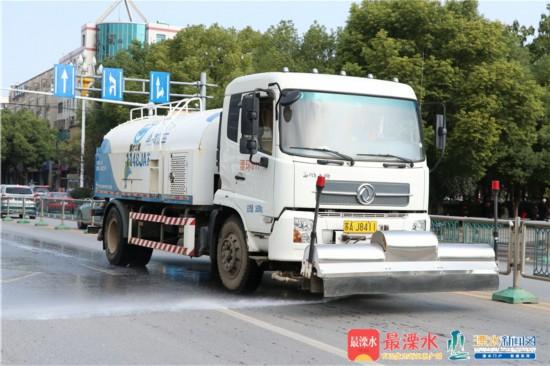 南京溧水开展大气污染管控 打赢防治攻坚战