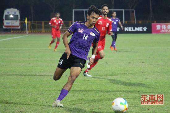 大体联足球亚洲杯第六日 阿曼与马来西亚1:1战平