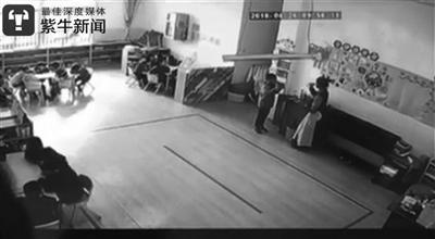 扬州幼儿园老师逼孩子喝开水 致孩子咽部红肿