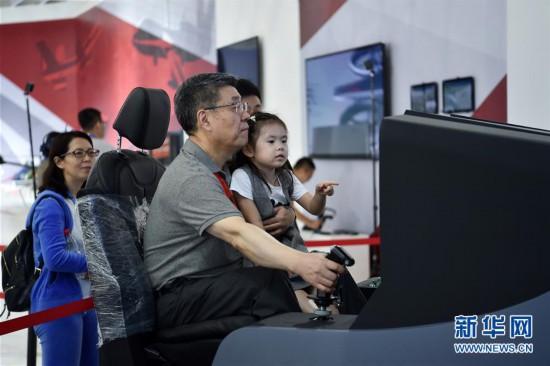 (科技)(2)第十二届中国航展静待开幕