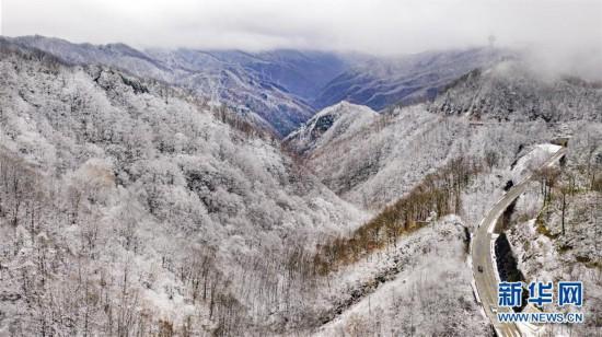 (美丽中国)(2)秦岭初雪