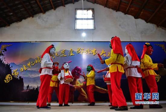 """古代舞蹈""""活化石""""――邵武傩舞"""