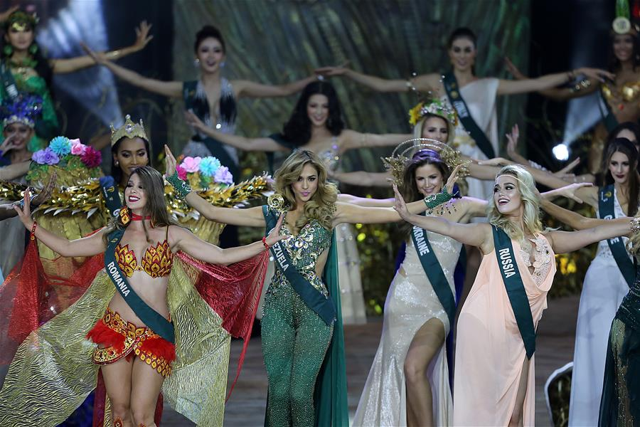 THE PHILIPPINES-PASAY CITY-MISS EARTH 2018-CORONATION NIGHT